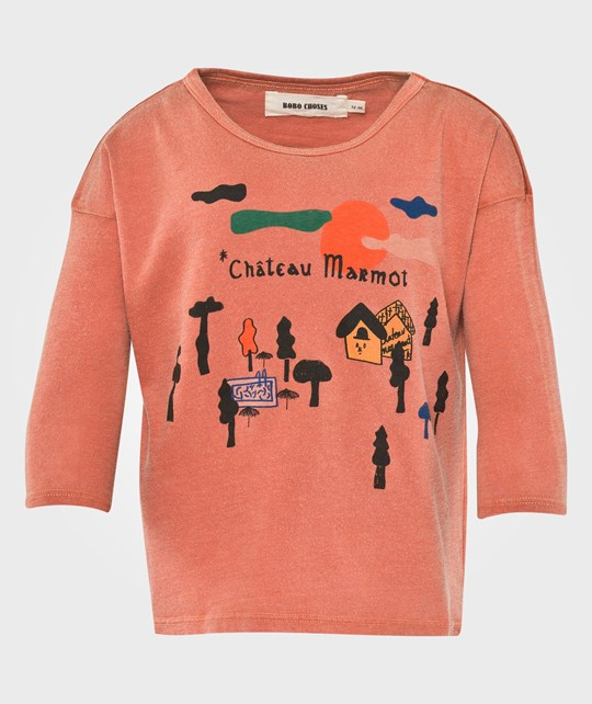 Bobo Choses Chateau T-Shirt Red Red