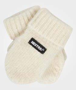 Hestra Pancho Baby MIttens Offwhite