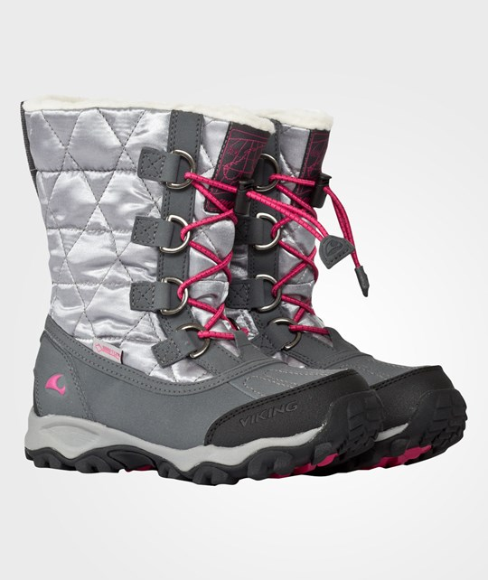 Viking Wildfire Girl Gtx Pewter/Silver Silver