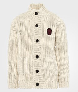 Little Marc Jacobs Knitted Cardigan Offwhite