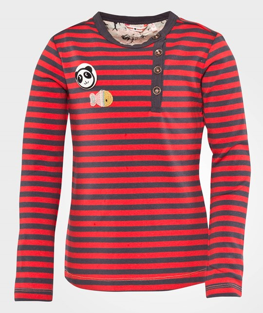 NONO Kusan T-shirt O-neck Ls Red