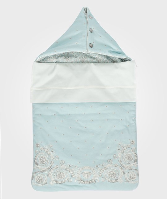 Versace Sleeping Bag Aqua/White White