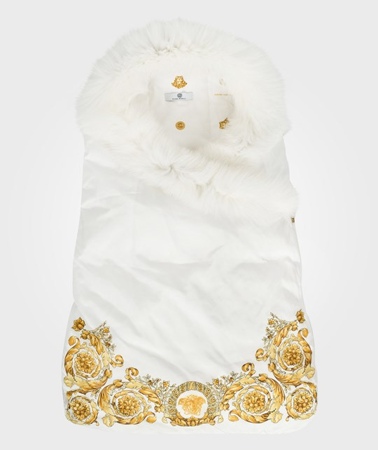 Young Versace Sleeping Bag White White