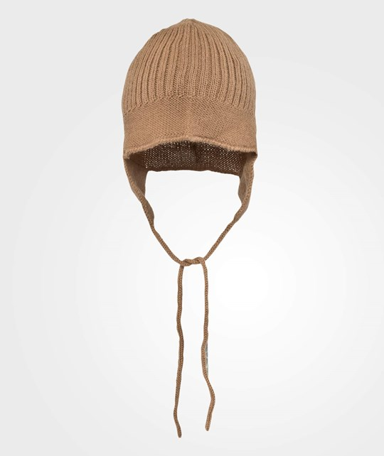 As We Grow Baby Hat Camel Brown