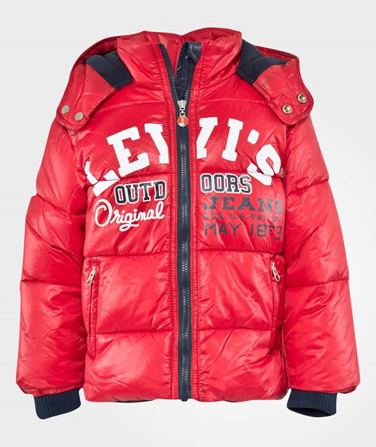 Levis Kids Jacket Plume Blouson Red
