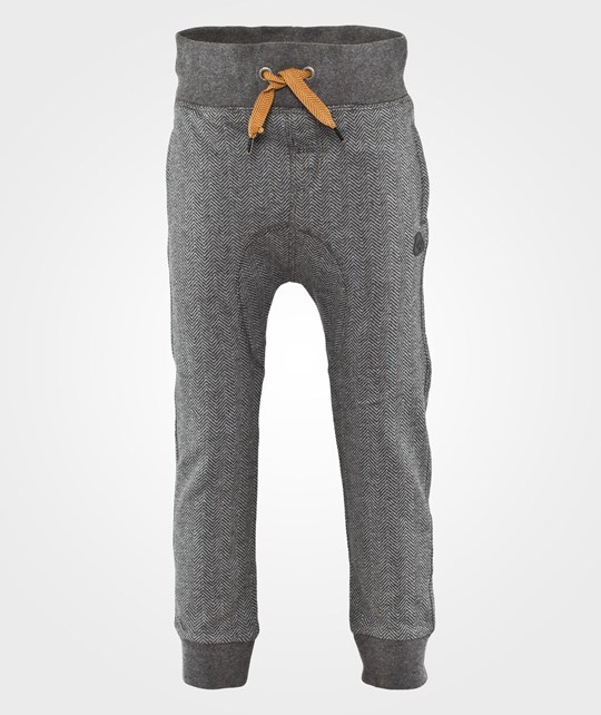Mexx Kids Boys Pant Sweat Robot Melange Black