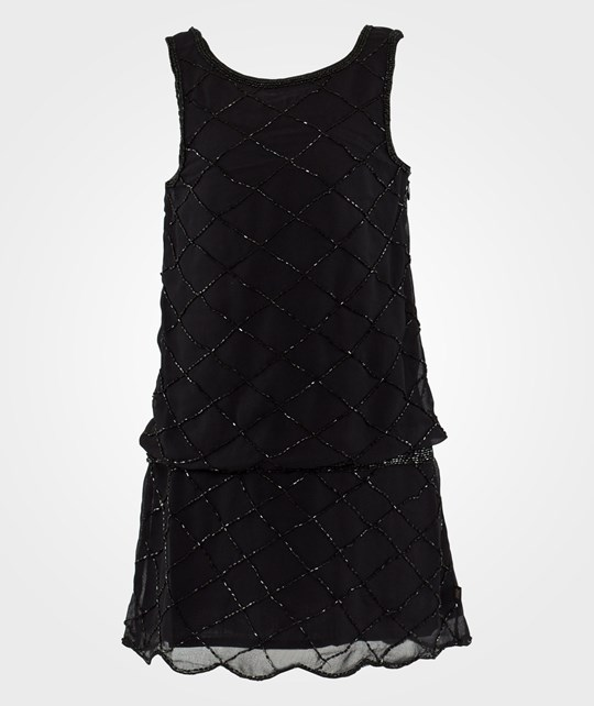 Mexx Kids Girls Dress Woven Black Black