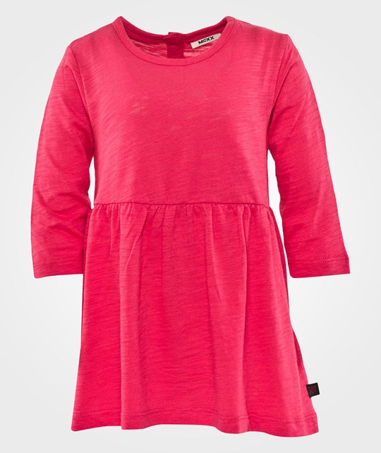 Mexx Mini Girls Dress Knit C&S Rose Red Red