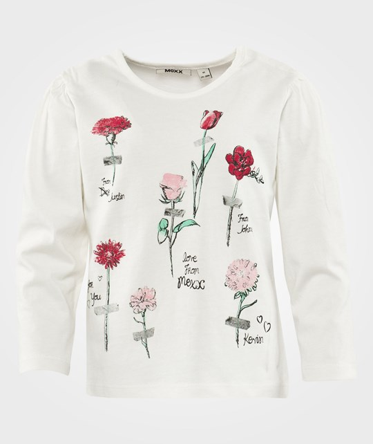 Mexx Mini Girls T-Shirt C&S Paper White