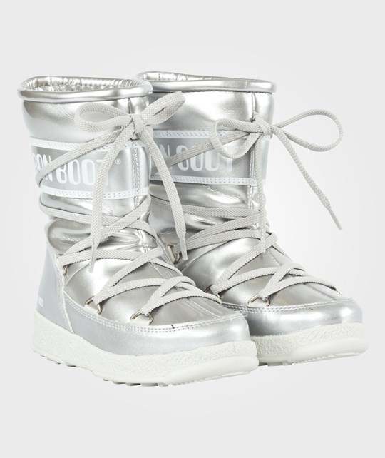 Moon Boot Moon Boot WE Sport Jr Silver Silver