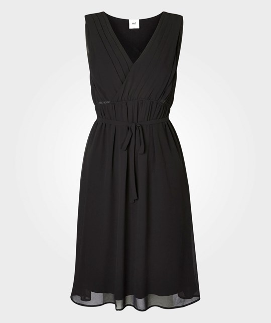 Mamalicious Yolanda Mary Wowen Dress Black