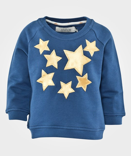 Anïve For The Minors College Sweater Wizard Blue