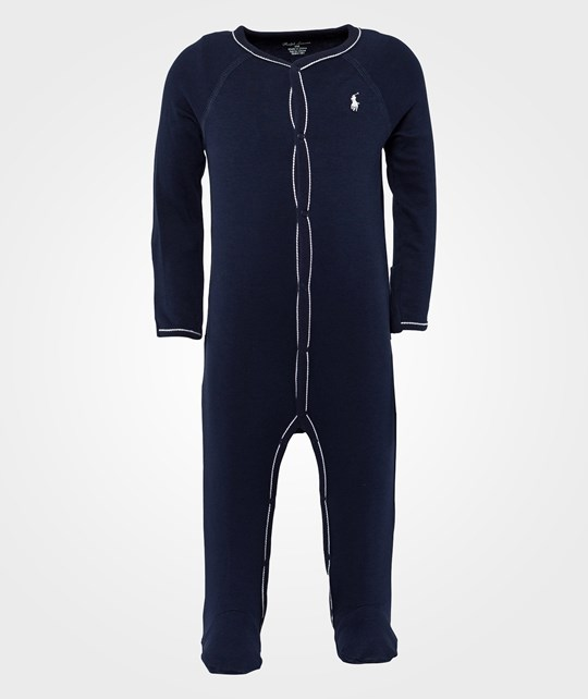 Ralph Lauren Solid Coverall French Navy Blue