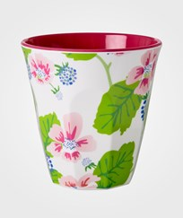 RICE A/S Melamine Cup Blossoms & Berries Multi