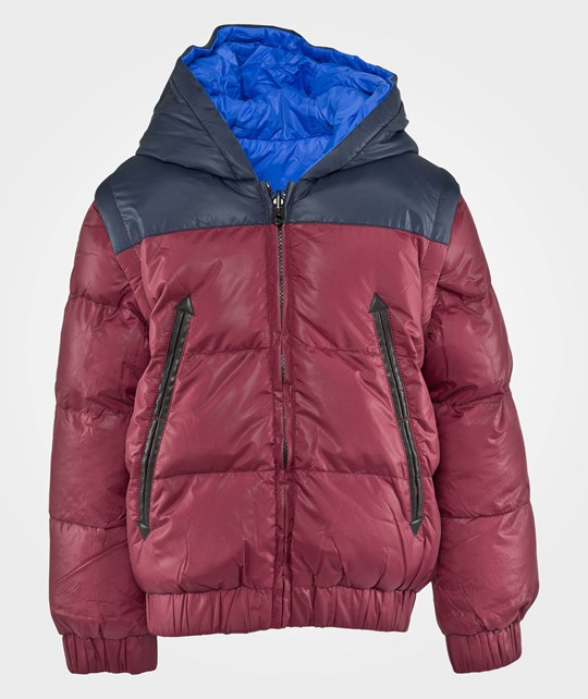 Little Marc Jacobs Puffer Jacket Crimson Blue Blue