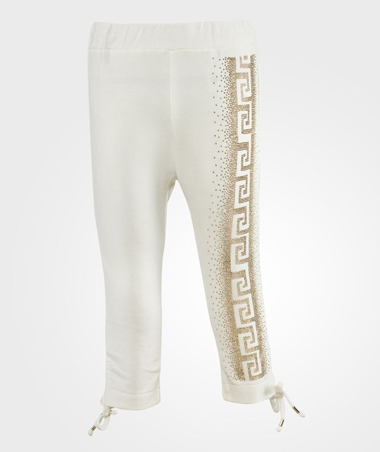 Young Versace Trousers White White