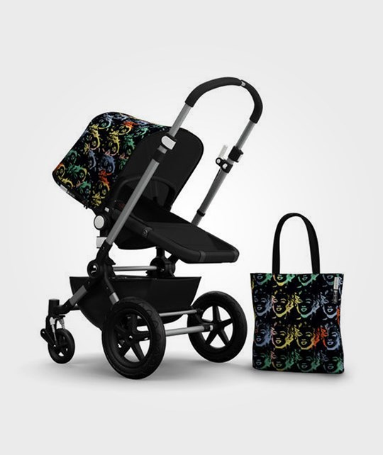 Bugaboo Cameleon3 Andy Warhol Acc Pack Marilyn Black Multi