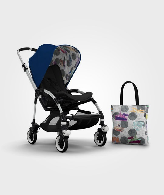 Bugaboo Bee3 Andy Warhol Acc Pack Royal Blue Transport Multi
