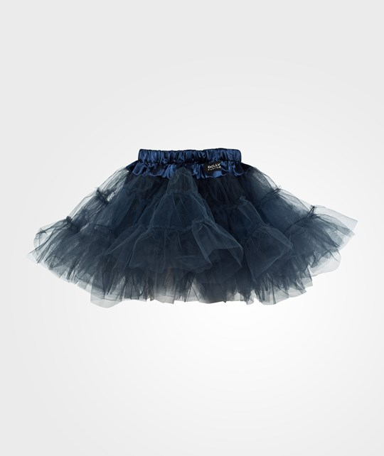 DOLLY by Le Petit Tom Tiered Tutu Blue Blue