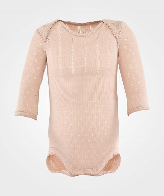 Noa Noa Miniature Baby Body,Long Sleeve/No Legs Blush Pink