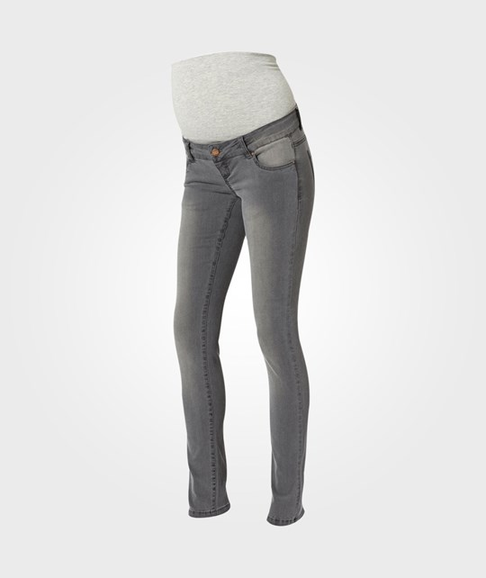 Mamalicious Ida Skinny Jeans Medium Grey