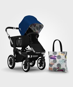 Bugaboo Donkey Andy Warhol Acc Pack Blue Transport
