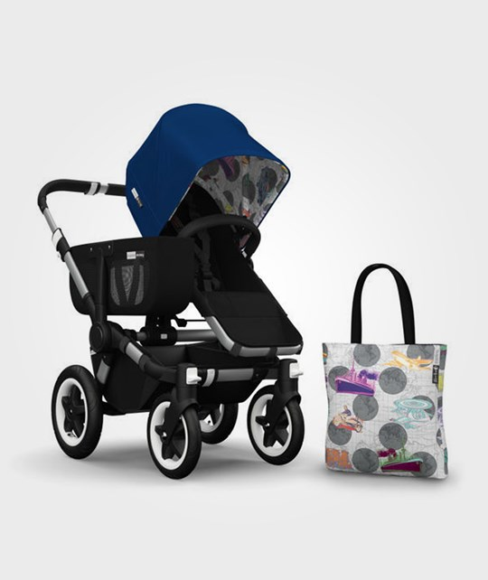 Bugaboo Donkey Andy Warhol Acc Pack Blue Transport Multi