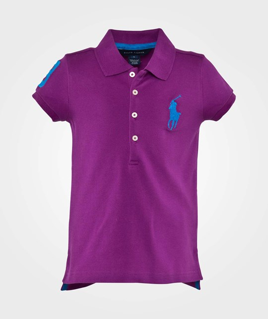 Ralph Lauren Ssl Big Pp Polo Big Pp New Hyacinth Multi