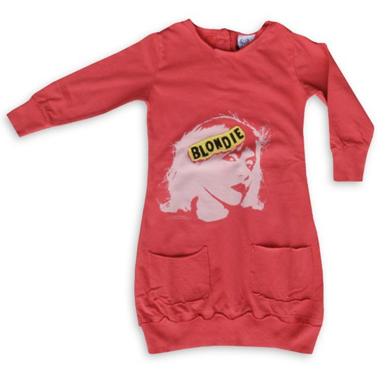 Amplified Kids Dress Blondie Red