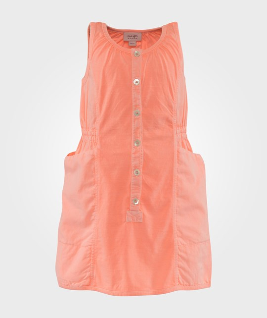 Noa Noa Miniature Dress short sleeve,Sleeveless Neon Orange Orange