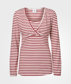 Mamalicious SAILOR TESS L/S JERSEY TOP NF Snow White
