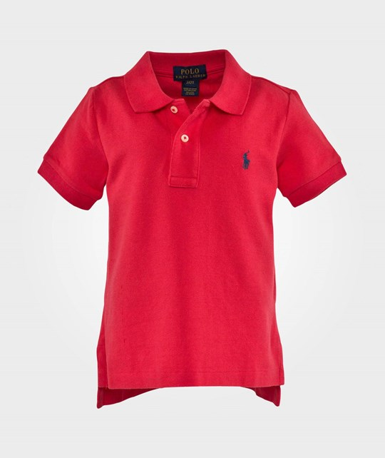 Ralph Lauren Ssl Classic Polo Pp Maui Red Red