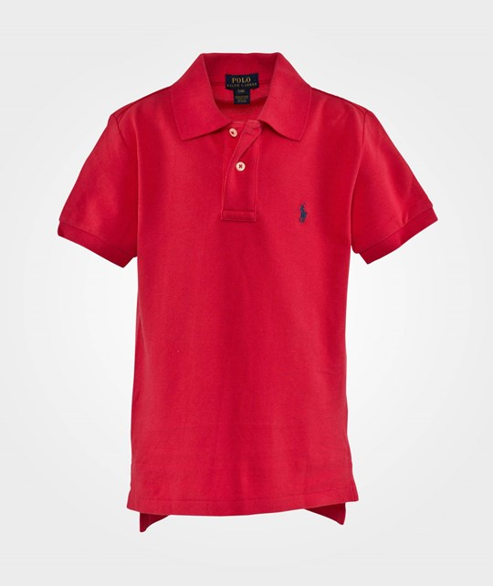 Ralph Lauren Ssl Custom Polo Pp Maui Red Red