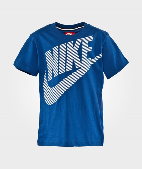 NIKE Dash Nike J SS Top LK Gym Blue Gym Blue