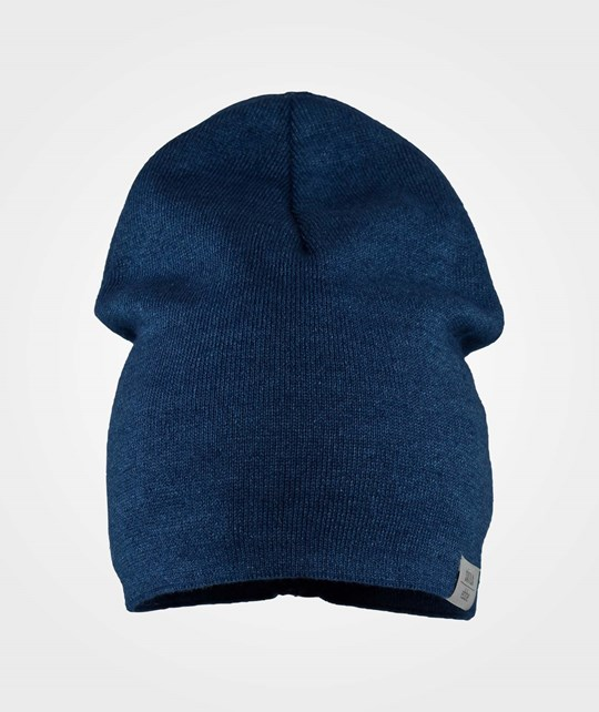 ebbe Kids Korn Beanie Denim Look Medium Blue Rinse Wash Blue