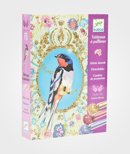 Djeco Glitter Birds Multi