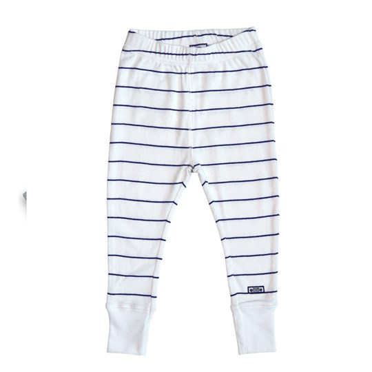 ebbe Kids Drop Pant White/Navy White