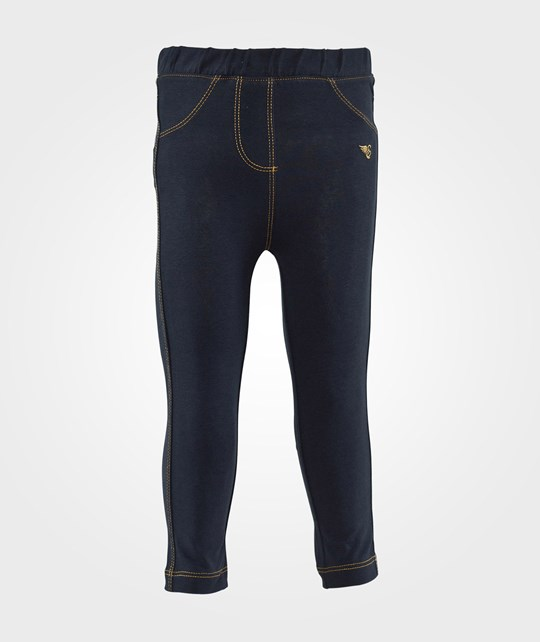 Esprit Knit pant E Superdark Denim Blue