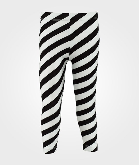 The Tiny Universe Tiny Leggings Stripes BlackWhite