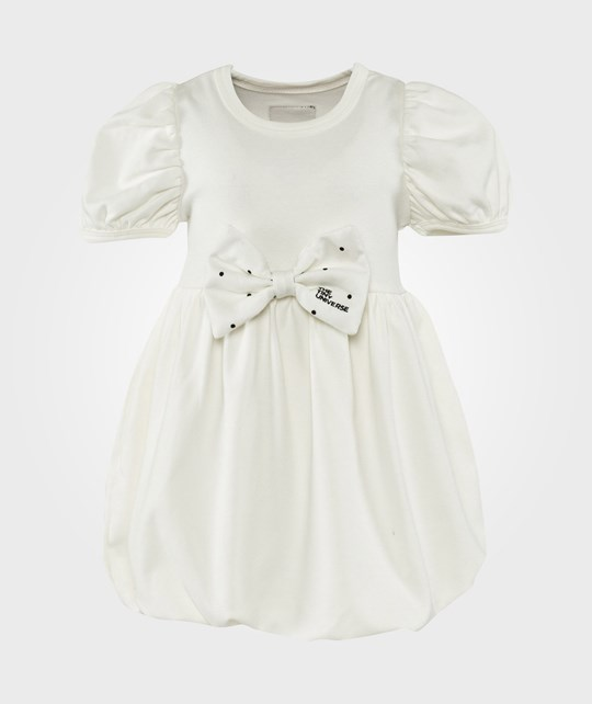 The Tiny Universe White Switch Dress Medium OffWhite Ribbon White