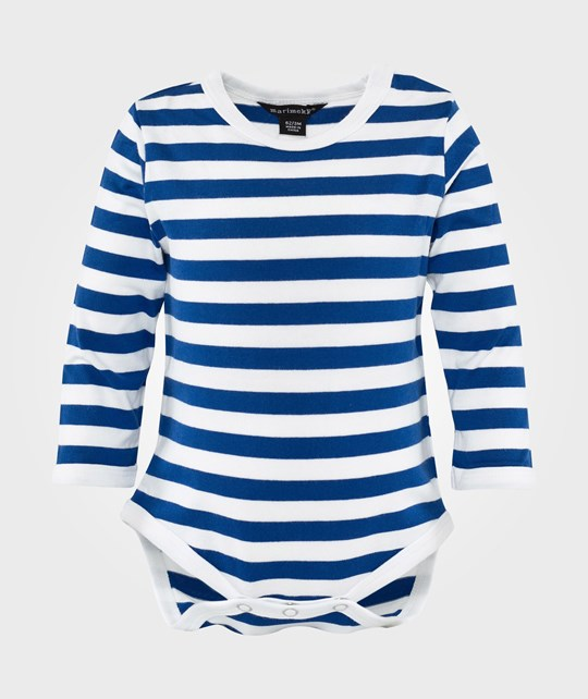Marimekko Vinde Body White and blue