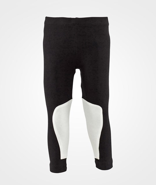 The Tiny Universe The Tiny Leggings/Ride Black with white patches