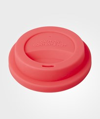 RICE A/S Silicone Lid Neon Coral Orange