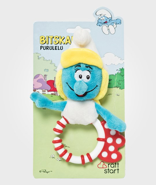 Smurfarna Ring Teether Smurf Multi
