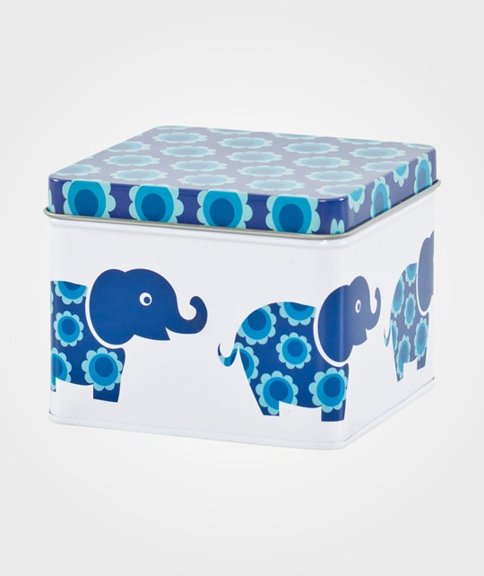 Blafre Small Box Blue Elephant Blue