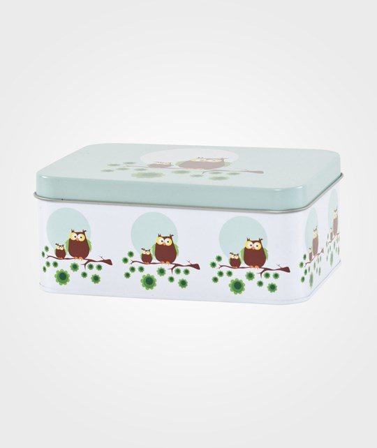 Blafre Small Lunch Box Owls Multi