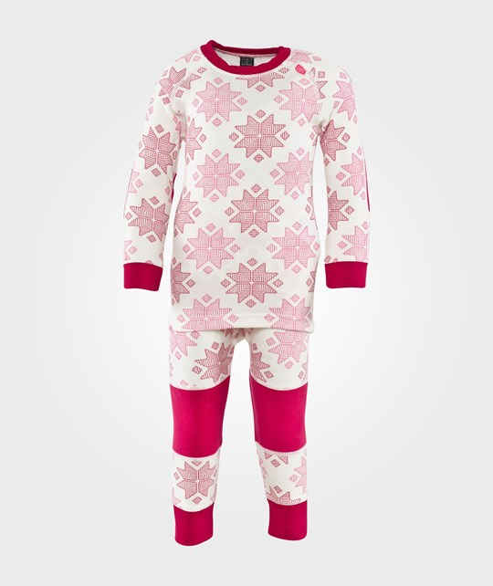 Helly Hansen K HH Warm Set White/Magenta Pink