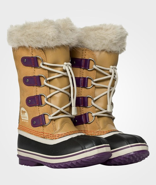 Sorel Youth Joan Of Arctic Curry BROWN