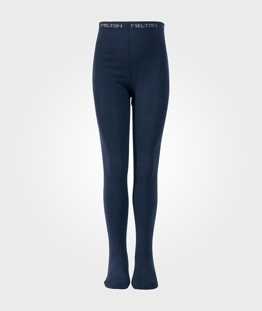 Melton Classic Basic Tights WO/CO Marine Blue