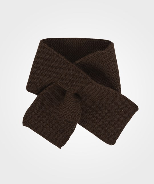 As We Grow Kid Scarf Chocolate Brown